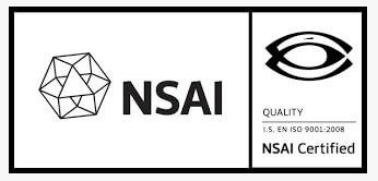 Image of NSAI certified logo